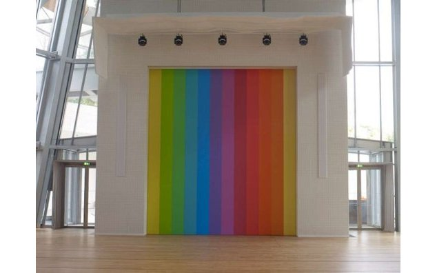 Ellsworth Kelly - Spectrum VIII, 2014